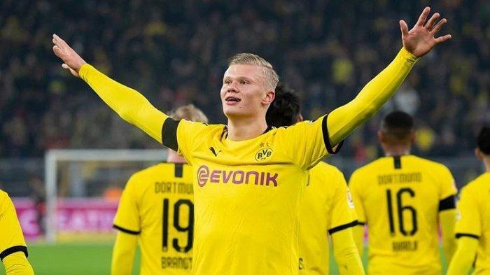 Penyerang Dortmund Si Bocah Super Erling Braut Haaland, Catatkan 3 Rekor Hanya dalam 14 Hari