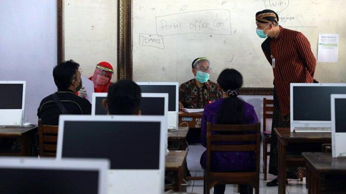SMA Negeri 3 Semarang Disidak, Ganjar Kembali Ingatkan Integritas: Langsung Coret Jika Curang