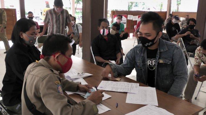 Masih Saja Ada Warga Tak Gunakan Masker di Banyumas, Jalani Sidang Tipiring, Didenda Rp 15 Ribu
