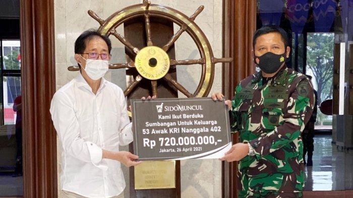 Sido Muncul Ikut Berduka, Sumbang Rp 720 Juta, Bantu Keluarga 53 Prajurit KRI Nanggala 402