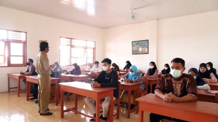 Empat SMA di Karanganyar Mulai Simulasikan PTM, Tingkat SMK Direncanakan Akhir Bulan