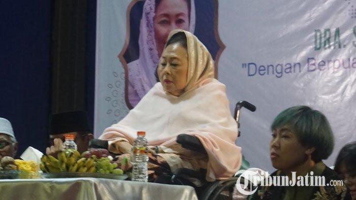 Istri Gus Dur, Sinta Nuriyah Dikabarkan Meninggal, Alissa Wahid: Ibunda Sehat, sedang Mengaji