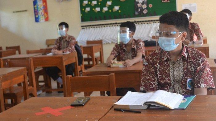 Sepulang PTM, Siswa di SMP Negeri 1 Purbalingga Wajib Bagikan Lokasi Terkini ke Guru Lewat Ponsel