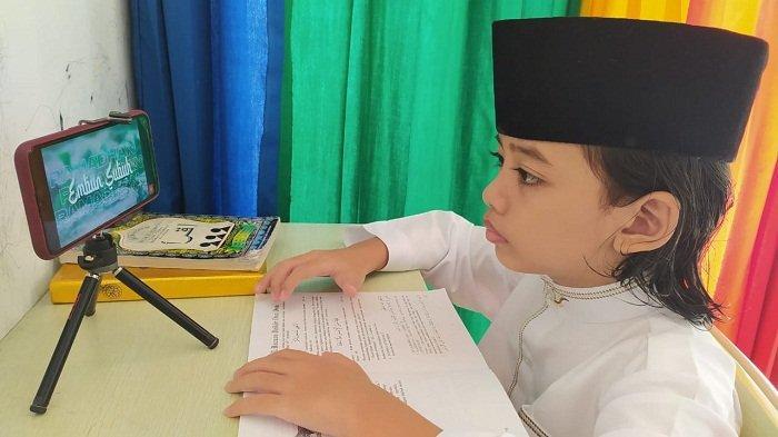 Guru Agama Islam di Banyumas Gelar Pesantren Virtual Ramadan, Ada Kisah Rasul dan Kuis Juga, Loh