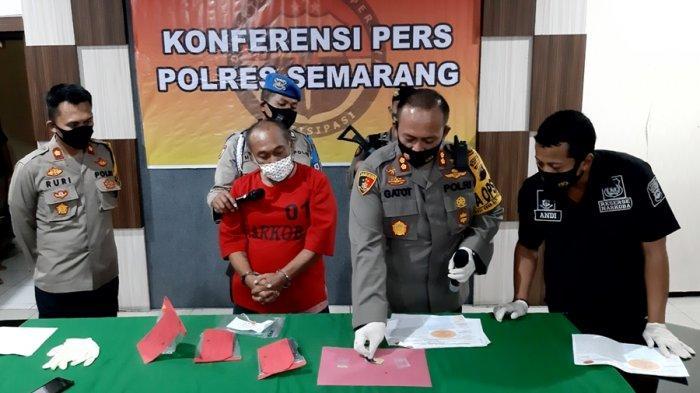 Sopir Taksi Online Nyambi Kurir Narkoba, Rutin Transaksi di Ungaran Kabupaten Semarang