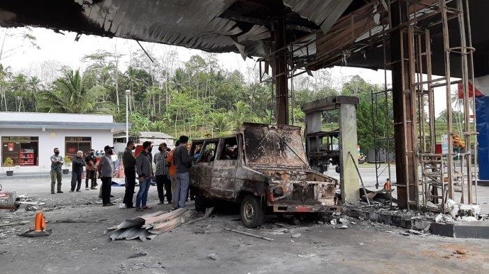 Pasca Insiden Kebakaran, Renovasi SPBU Selokromo Wonosobo Butuh Waktu Dua Bulan