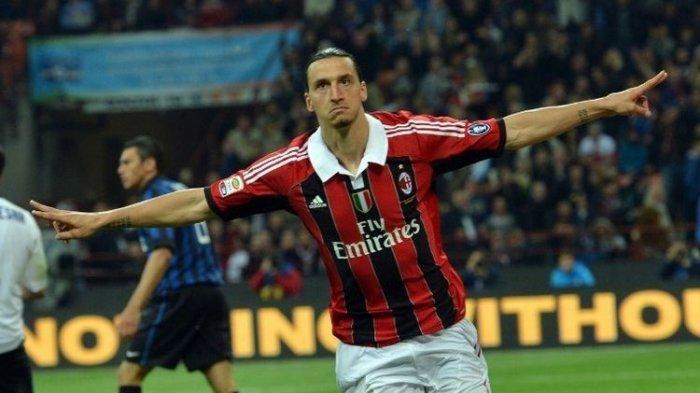 Gol Zlatan Ibrahimovic di Waktu Extra Time Loloskan AC Milan ke Perempat Final Coppa Italia