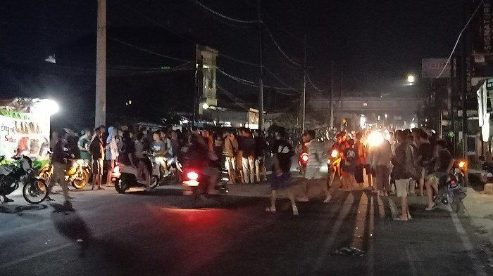 Bikin Resah, Aksi Balap Liar di Jalan Pekajangan Pekalongan Marak Menjelang Sahur