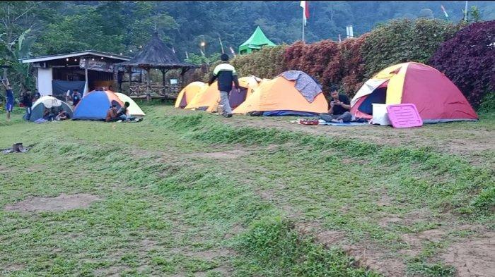 Serunya Kamping di Black Canyon Petungkriyono Pekalongan: Mandi di Sungai, Disambut Suara Owa Jawa