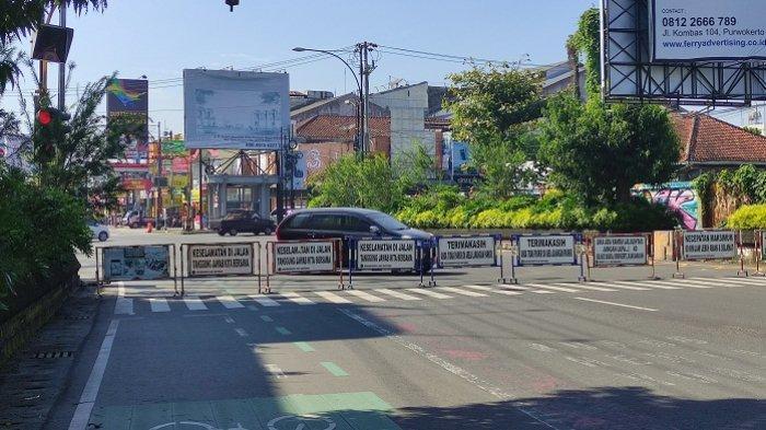 Penyekatan Jalan di Purwokerto Banyumas Diperluas saat Akhir Pekan, Ini 13 Titik yang Ditutup