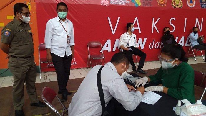 Pegawai di Sektor Jasa Keuangan di Banyumas Mulai Mendapat Vaksin Covid, Sasar 2.591 Orang