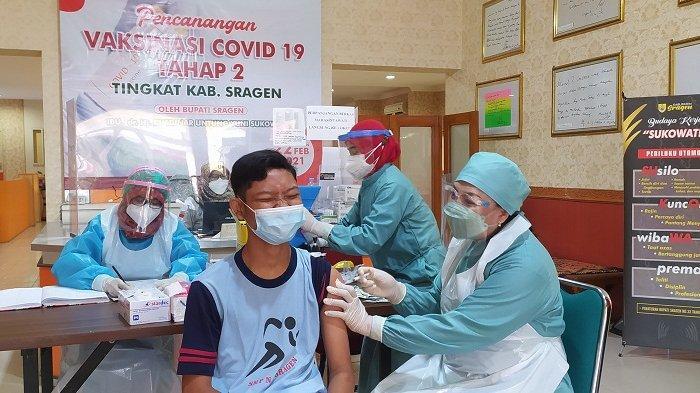 Mulai 11 Oktober 2021, Sentra Vaksinasi Sukowati Sragen Layani Vaksin sampai Malam. Ini Jadwalnya