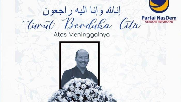 Kabar Duka Lagi, Anggota DPRD Jateng Meninggal Dunia, Suharto Politikus Partai Nasdem