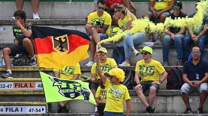 Makin Dekati Waktu Pensiun, Rossi Ucapkan Selamat Tinggal ke Sirkuit Misano
