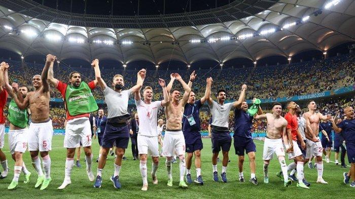 EURO 2020: Tantang Spanyol di Laga Pembuka Perempat Final Malam Ini, Swiss Harus Rela Tanpa Xhaka