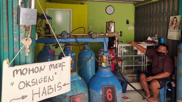 Di Jaten Karanganyar, Agen Isi Ulang Tabung Oksigen Makin Kewalahan Layani Permintaan Konsumen