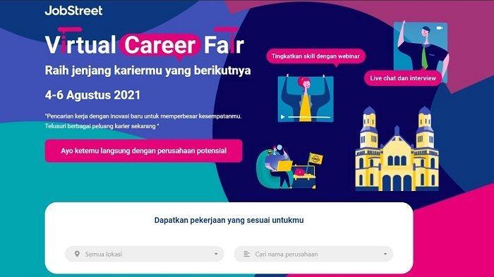 Lagi Cari Kerja di Jateng dan DIY? Ikuti Bursa Kerja Virtual Jobstreet. Tersedia 1000 Lowongan