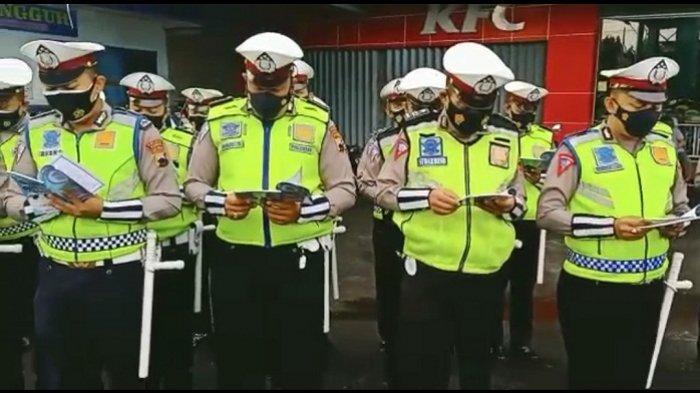 Video Polisi Baca Asmaul Husna Viral, Ternyata Kegiatan Setiap Pagi Anggota Satlantas Polres Kudus