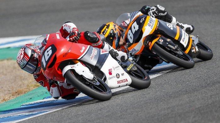 Sempat Terjatuh, Begini Cerita Perjuangan Mario Suryo Aji Raih Poin Penting di FIM CEV Jerez