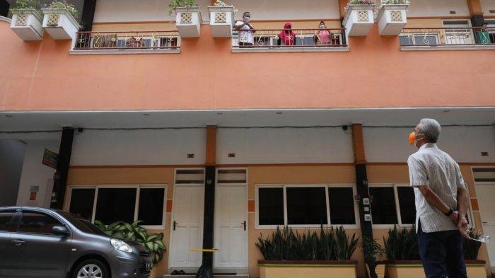 Disambangi Ganjar Pranowo, Ini yang Disampaikan Pasien Covid-19 di Hotel Kencana Pati