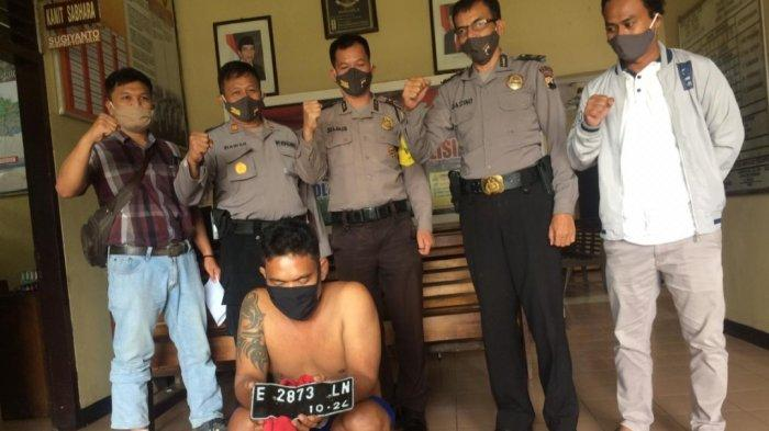 Curi Sepeda Motor di Sebuah Gudang Desa, Warga Sokaraja Banyumas Dibekuk Polisi
