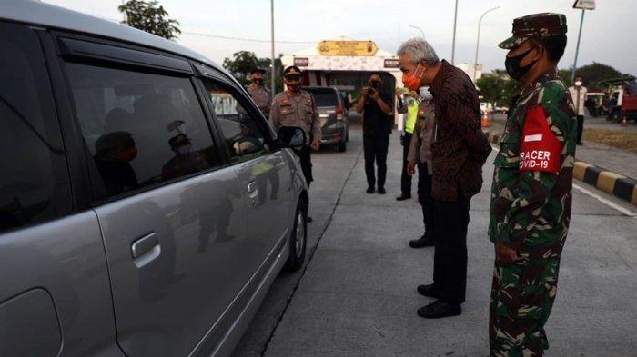 Satu Orang Positif, Hasil Tes Acak di Rest Area Batang, Pemudik dari Jakarta Tujuan Tulungagung