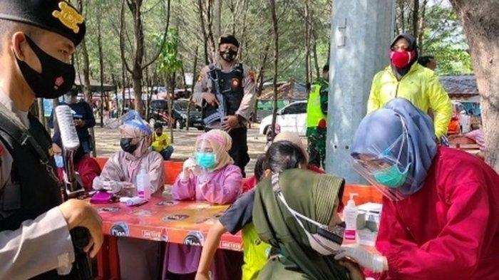 Tes Swab Pedagang dan Wisatawan PAI Tegal, Kapolres: Masih Banyak yang Abai Protokol Kesehatan