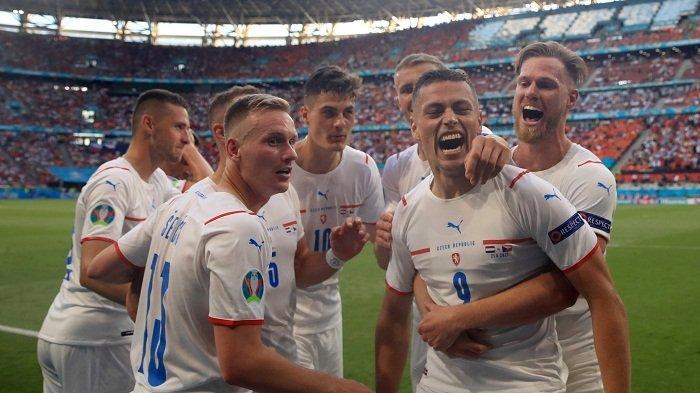 Hasil EURO 2020: Tuah Kartu Merah, Ceko Melaju ke Perempat Final setelah Tumbangkan Belanda 0-2