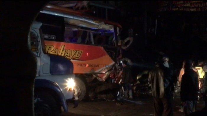 Kronologi Detik per Detik Kecelakaan Bus Sugeng Rahayu di Kertek Wonosobo, Sopir Tewas di Lokasi