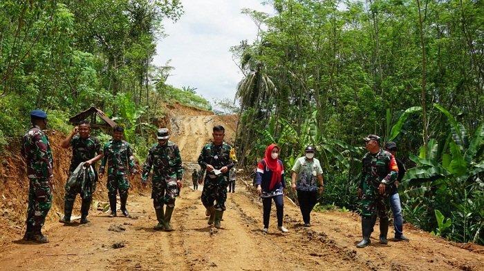 TMMD Buka Jalan Baru di Purbalingga, Jarak Tempuh Desa Tumanggal-Tegalpingen Lebih Dekat 10 Km