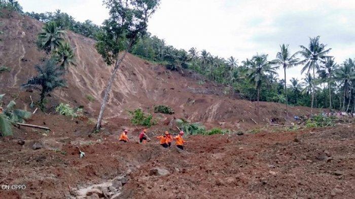 Pencarian Korban Longsor Padureso Kebumen Dilanjutkan Hari Ini, Jemarun Masih Dinyatakan Hilang