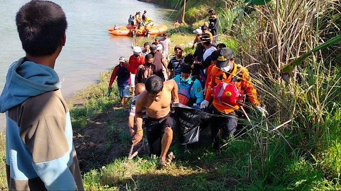 Bocah asal Menganti Ditemukan Tim SAR Gabungan Tewas, Hilang Tenggelam di Sungai Tajum Banyumas