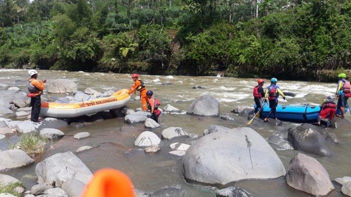 Belum Juga Ketemu, Pencarian Korban Hanyut di Sungai Progo Yogyakarta Diteruskan Hari Ini