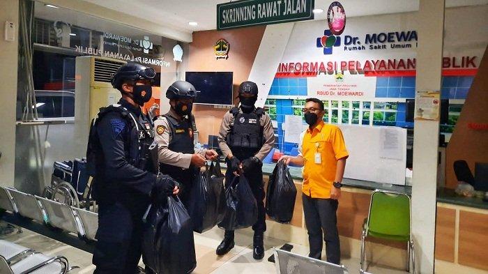 Malam-malam, Pasukan Polisi Bersenjata Lengkap Datangi RSUD Dr Moewardi Solo. Apa yang Terjadi?
