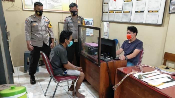 Kabur ke Rumah Kontrakan di Tegal, Pencuri Kabel di Jembatan Tonjong Banyumas Berhasil Diamankan