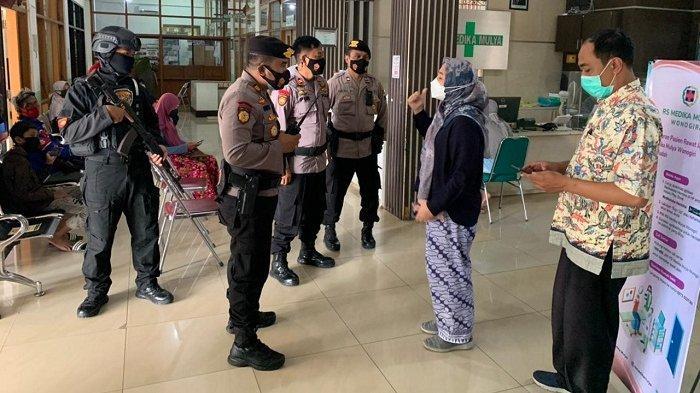 Lihat Polisi Bersenjata Lengkap Berjaga di Rumah Sakit, Pasien Covid di Wonogiri Batal Minta Pulang