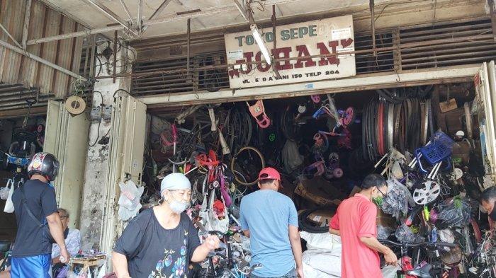 Menengok Kisah Toko Sepeda Tertua di Kota Tegal, Sudah Empat Generasi Sejak 1920