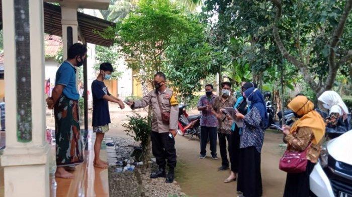 Petugas Satgas Kecamatan Petanahan Kebumen Datangi Tiga Desa Ini, Tracking Warga Kontak Erat Pasien