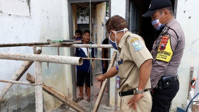 Tukang Las Asal Banyumas Terjatuh dari Atap Setinggi 5 Meter di Purbalingga, Tubuhnya Terbakar