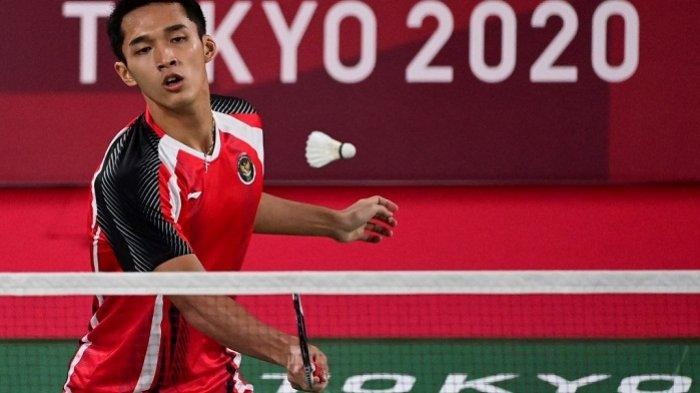 Langkah Jonathan Cristie di Olimpiade Tokyo 2020 Terhenti, Kalah dari China dalam Dua Gim