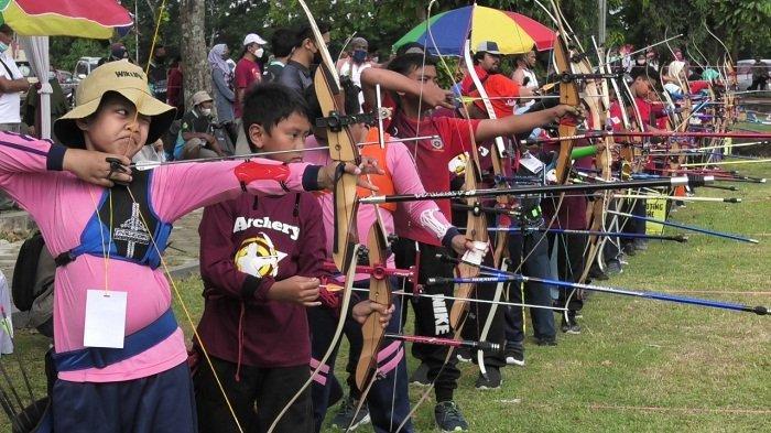 144 Atlet Panahan Ikuti Turnamen Perpani Banyumas, Berebut Juara di Lima Kategori