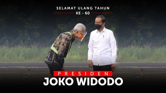 Presiden Jokowi Ulang Tahun, Video Ucapan Ganjar Pranowo: Terus Berkarya dan Gemati pada Rakyat