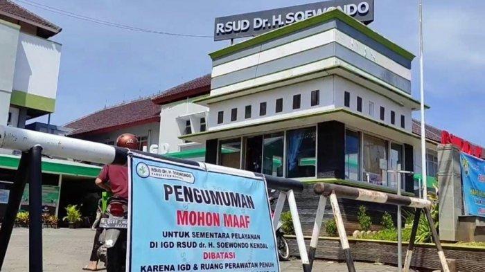 Mohon Maaf, Layanan UGD RSUD dr Soewondo Kendal Ditutup Sementara