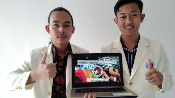 Bioplastik Pakai Limbah Sisik Gurame dan Kulit Singkong, Mahasiswa UKSW Salatiga Ini Juarai BIOSPEC