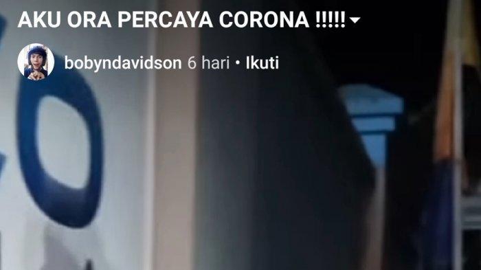 Komentar Balasan Warganet Terbukti, Warga Purwokerto Pengunggah Video Tak Percaya Corona Ditangkap