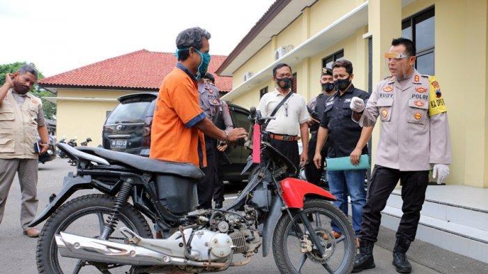 Kasus Pencurian Motor di Kebumen, Pelaku Ditangkap Seusai Posting Motor yang Hendak Dijual