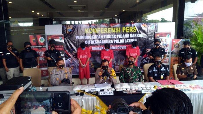 Delapan Kilogram Sabu Disita Polisi, Kapolda Jateng: Kami Bisa Selamatkan Nyawa 91 Ribu Jiwa