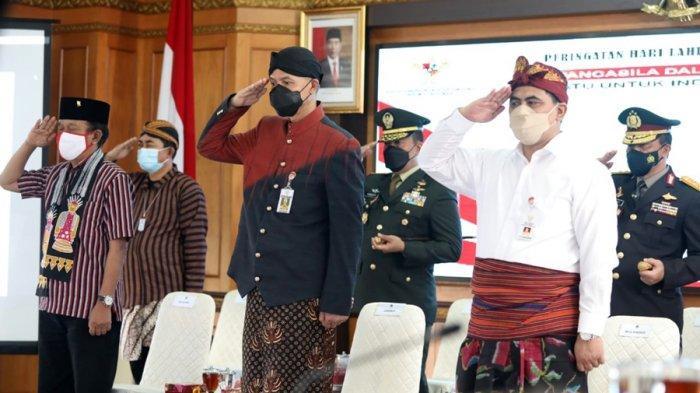 Gubernur Jateng: Instruksi Presiden Sangat Jelas dan Hanya Satu, Membumikan Pancasila