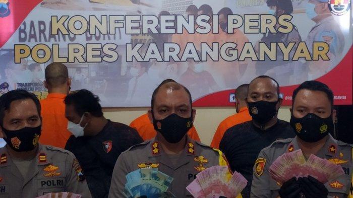 Terungkap Peredaran Uang Palsu di Colomadu Karanganyar, Awalnya Melalui Transaksi di Toko Kelontong