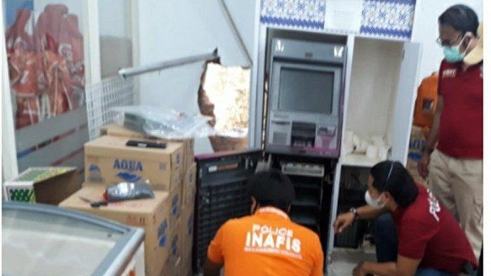 Pembobol Mesin ATM di Gunungpati Semarang Diduga Komplotan Lintas Kota, Polisi: Modusnya Sama